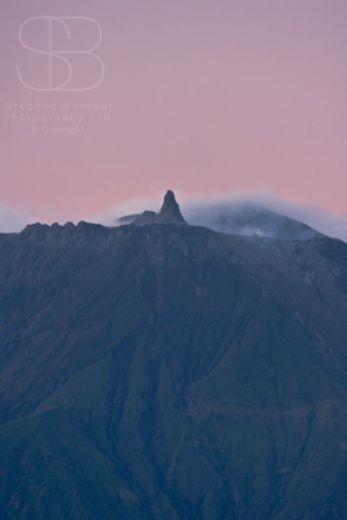 volcanoes, vertical, mountain, sky, crater, steam, sunset, peak, Ol Doinyo Lengai, Mountain of the Gods, Rift Valley, Tanzania